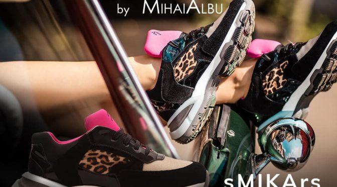Mihai Albu a lansat colectia de sneakersi in editie limitata sMIKArs
